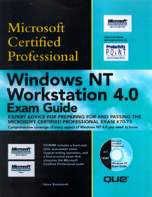 Image for Windows NT Workstation 4.0 Exam Guide (Covers Exam #70-073)