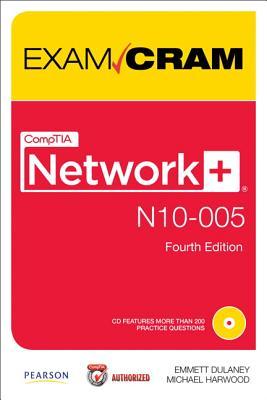 CompTIA Network+ N10-005 Authorized Exam Cram (4th Edition), Emmett Dulaney, Michael Harwood