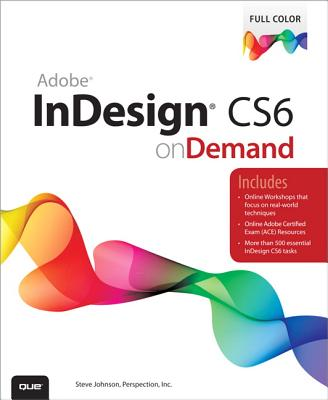 Image for Adobe InDesign CS6 on Demand