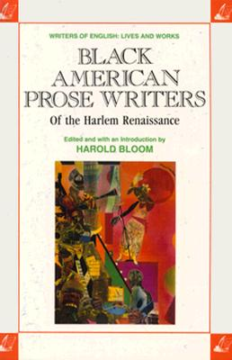 Image for Black American Prose Writers of the Harlem Renaissance (Writers of English)