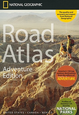 Image for National Geographic Road Atlas 2021: Adventure Edition [United States, Canada, Mexico]
