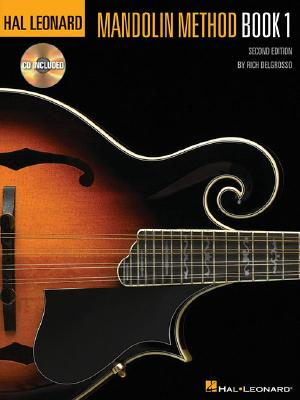 Hal Leonard Mandolin Method, DelGrosso, Rich