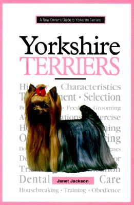 Image for A New Owner's Guide to Yorkshire Terriers (JG Dog) by Jackson, Janet