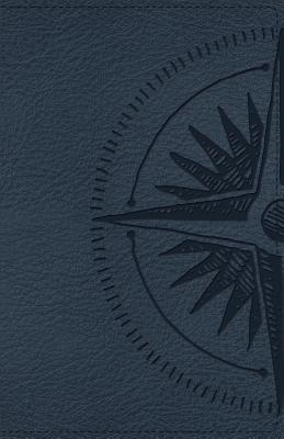 Image for CSB Heart of God Teen Study Bible Navy, Compass Design LeatherTouch