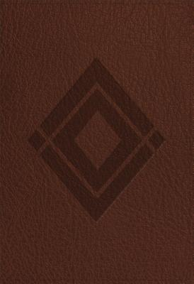 "Image for ""CSB Baker Illustrated Study Bible Brown, Diamond Design LeatherTouch"""