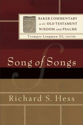 Image for BCOT Song of Songs (Baker Commentary on the Old Testament Wisdom and Psalms)