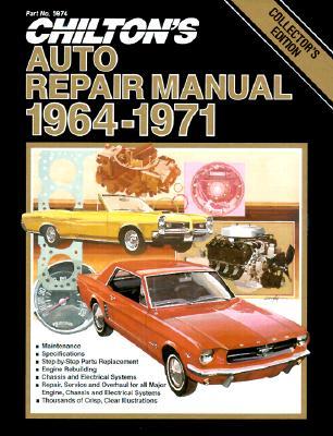 Image for Chilton's Auto Repair Manual 1964-71