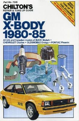 Image for GM X-Body 1980-85 (Chilton's Repair Manual)