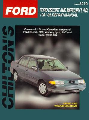 Image for CHILTON'S FORD ESCORT AND MERCURY LYNX 1981-95 REPAIR MANUAL