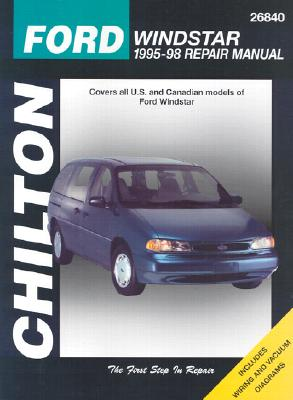 Image for CHILTON: FORD WINDSTAR 1995-98 REPAIR Manual