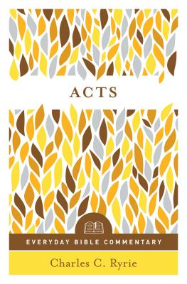 Image for Acts (Everyday Bible Commentary series)