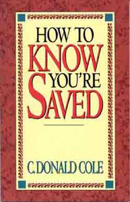 Image for How To Know You Saved (Pamphlet)