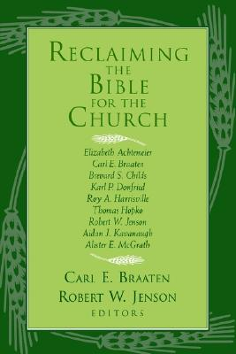 Image for RECLAIMING THE BIBLE FOR THE CHURCH