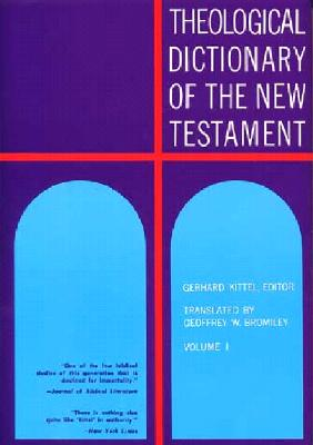 Image for Theological Dictionary of the New Testament Volume I