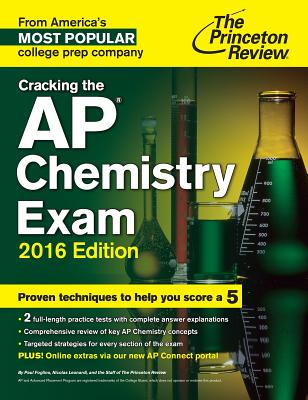 Image for Cracking the AP Chemistry Exam, 2016 Edition (College Test Preparation)