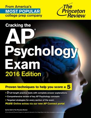 Image for Cracking the AP Psychology Exam, 2016 Edition (College Test Preparation)