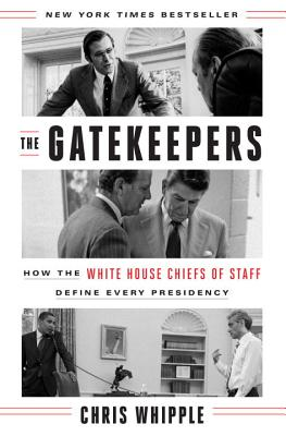Image for GATEKEEPERS: How the White House Chiefs of Staff D