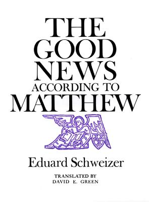 Image for The Good News According to Matthew