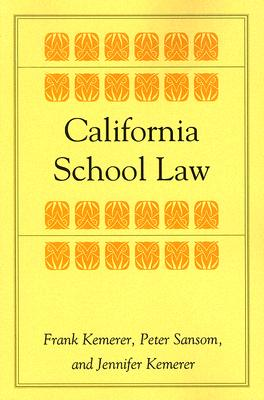 Image for California School Law (Stanford Law & Politics)