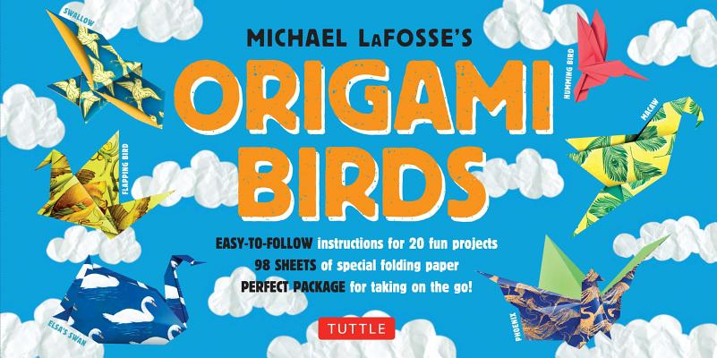 Image for Origami Birds Kit: Make Colorful Origami Birds with This Easy Origami Kit: Includes 2 Origami Books, 20 Projects & 98 High-Quality Origami Papers