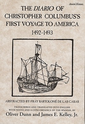 Image for The Diario of Christopher Columbus?s First Voyage to America, 1492?1493 (Volume 70) (American Exploration and Travel Series)