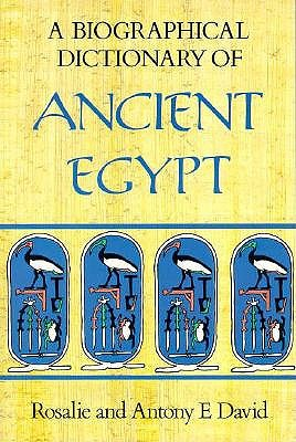 Image for A Biographical Dictionary of Ancient Egypt