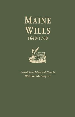 Image for Maine Wills, 1640-1760