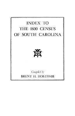 Image for Index to the 1800 Census of South Carolina