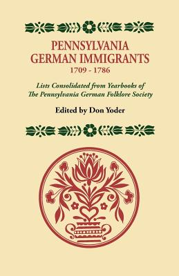 Image for Pennsylvania German Immigrants, 1709-1786