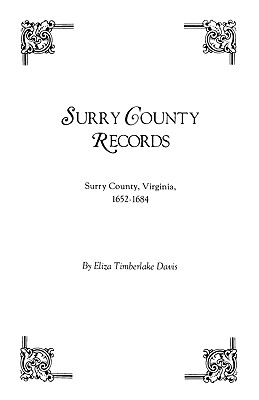 Image for Surry County Records