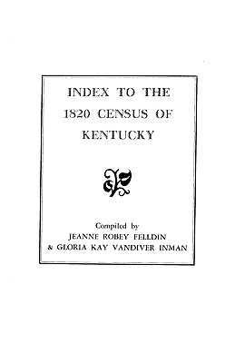Image for Index to the 1820 Census of Kentucky