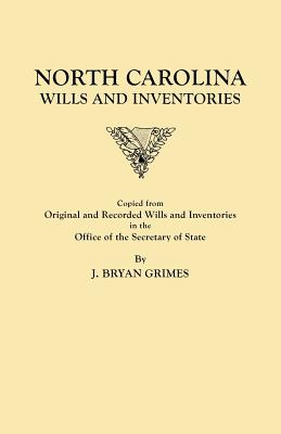 Image for North Carolina Wills and Inventories