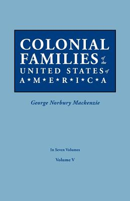 Image for Colonial Families of the United States of America, Volume V
