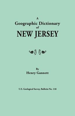 Image for Geographic Dictionary of New Jersey