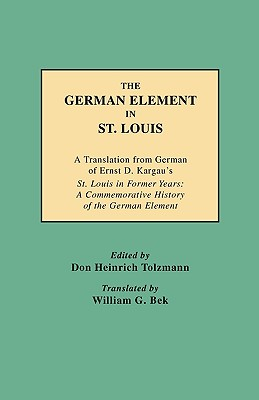 Image for The German Element in St. Louis