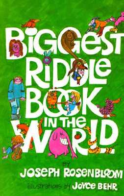 Biggest Riddle Book in the World, Rosenbloom, Joseph