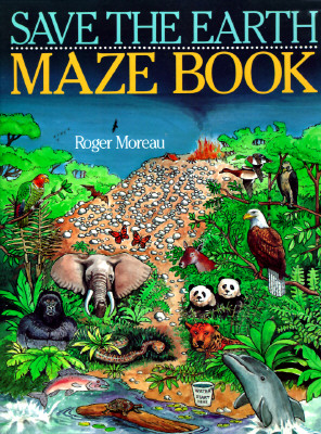 Image for Save the Earth Maze Book