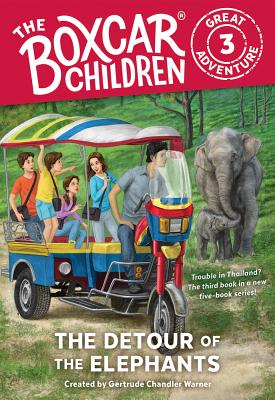 Image for The Detour of the Elephants (The Boxcar Children Great Adventure)
