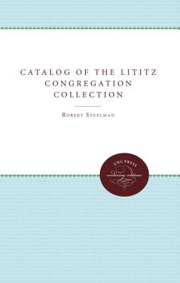 Image for Catalog of the Lititz Congregation Collection