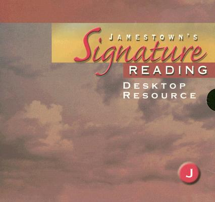 Image for Jamestown's Signature Reading: Level J Desktop Resource [Spiral-bound]  by...