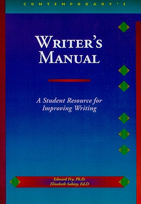 Image for Writer's Manual (Contemporary's Reading and Writing Handbooks)