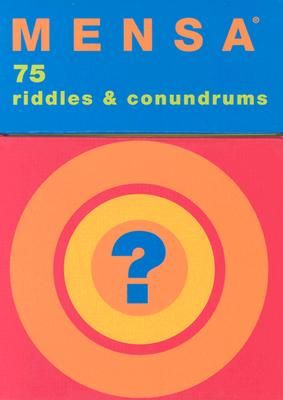 Mensa Riddles & Conundrums, Chronicle Books Staff