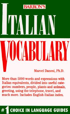 Image for ITALIAN VOCABULARY