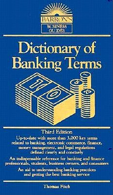 Image for Dictionary of Banking Terms Third Edition