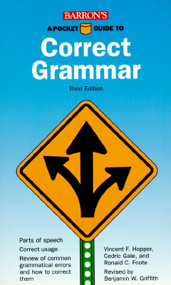 Image for A Pocket Guide to Correct Grammar