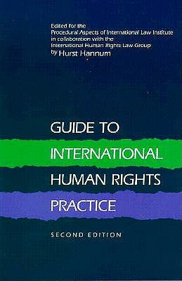 Image for Guide to International Human Rights Practice