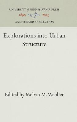 Image for Explorations into Urban Structure