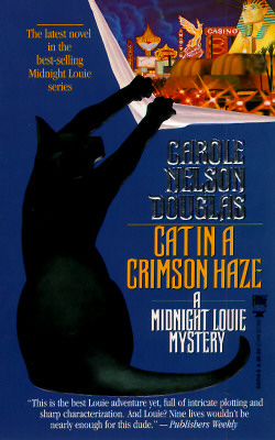Image for Cat in a Crimson Haze: A Midnight Louie Mystery (Midnight Louie Mysteries (Paperback))