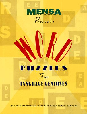 Image for WORD PUZZLES FOR LANGUAGE GENIUSES
