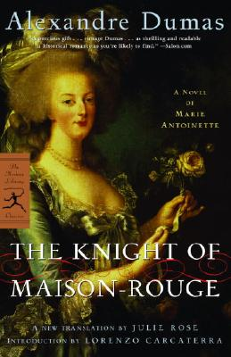 Image for The Knight of Maison-Rouge: A Novel of Marie Antoinette (Modern Library Classics)